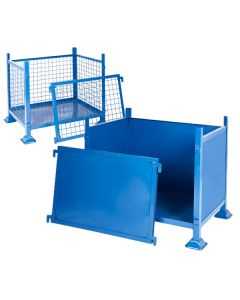 Metal Box Pallets with Detachable Sides