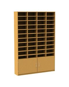 44 Compartment Pigeonhole Unit with Cupboard