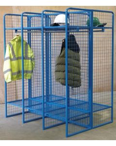 Heavy Duty Wire Mesh Lockers - Double Sided