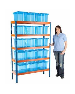 Steel Shelving Bay and Storage Kits