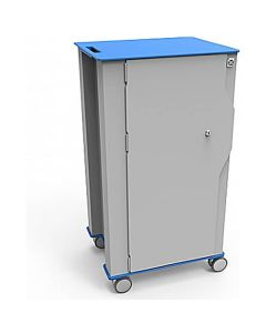 iBoxx Charge and Sync Cart - Blue - Closed