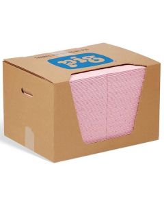 Pig® Chemical Absorbent Pads in Dispenser Box