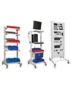 Trolley Accessories - Tilting Shelf & Panel, I.T and Tool Panel Trolleys