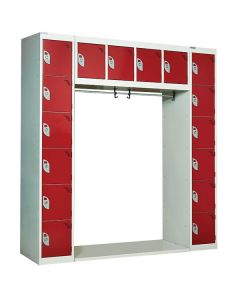 Archway Lockers - 16 Compartments