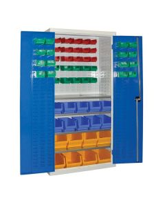 Armour Container Cupboard with 59 Bins