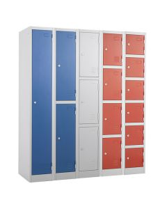 Atlas Lockers - Available in Blue, Light Grey and Red