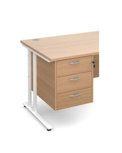 Chicago Fixed Pedestals - 3 Drawers