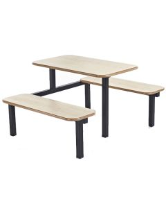 Bench Canteen Fast Food Diner Units