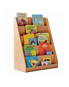 Bookcase with 5 Tiered Fixed Shelves