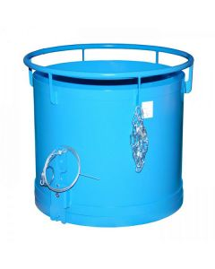 Cylindrical Bottom Emptying Containers