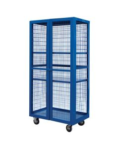 Boxwell Mobile Storage Cages with Doors