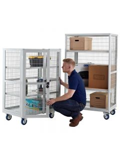 Boxwell Mobile Storage Cages