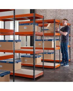 TUFF Shelving 300KG 450mm Deep 5 Bay Bundle Deal