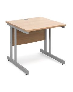 Manhattan Cantilever Straight Desk - 24 Hours Delivery