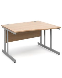 Manhattan Right Hand Wave Desk - 24 Hours Delivery