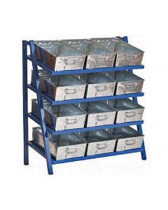 Cantilever Racks with Tote Pans