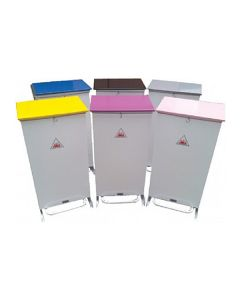 70 Litres Foot Operated Sack Holders with Coloured Lids