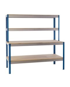 General Purpose Workstation with Lower Shelf
