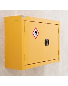 Hazardous Storage Wall Cupboard