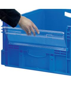 Insertable Window for Euro Containers