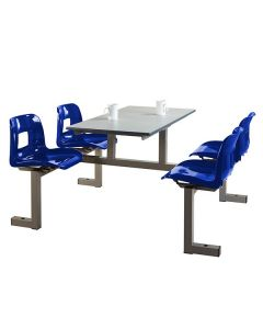 KD 4 Seater Canteen Unit - Flatpack