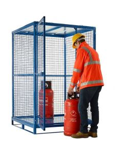 Knock-Down Cylinder Cages