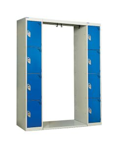 Archway Lockers - 8 Compartments