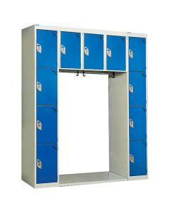 Archway Lockers - 11 Compartments