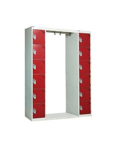 Archway Lockers - 12 Compartments