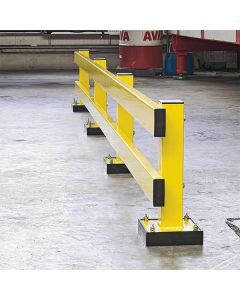 Low Level Guard Rails - Outdoor/Indoor Use - Application Image