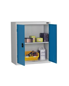 Low Probe Cupboard - Silver Body - Blue Door