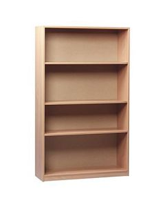 Monarch Wooden Bookcase - 1800mm High