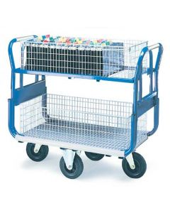 Platform Trolley with Large Baskets