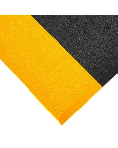 Orthomat Standard Safety Mats - Black With Yellow Edges