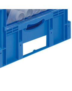 Pick and View Euro Container Labeling Accessories