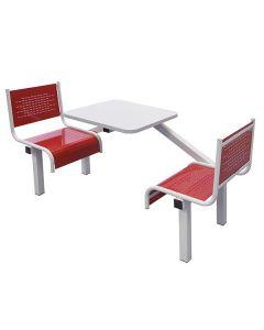 2 Seater Spectrum Fast Food Unit - Fully Welded