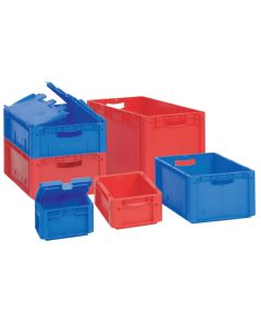 Solid Side and Base Euro Containers