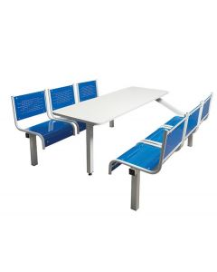 6 Seater Spectrum Fast Food Unit - Fully Welded