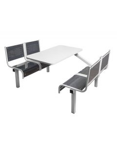 4 Seater Spectrum Fast Food Unit - Fully Welded