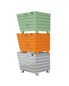Stacking Tipping Skips