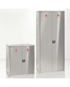 Stainless Steel Hazardous Cupboards for Clean Areas