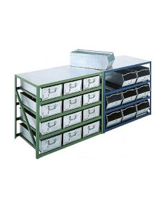 Steel Counter Bench Units for 200mm high Vista Bins