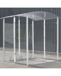 Steel Pillar Cycle Shelter