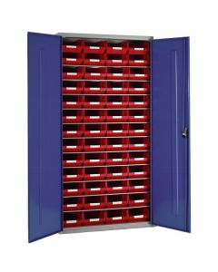 Workshop Cupboard displayed with size Red Containers
