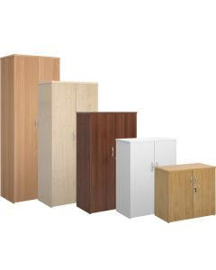 High Wooden Office Cupboards