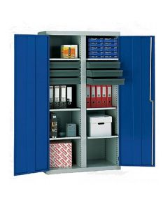 Tool Cupboard with 6 Drawers and 6 Pull-Out Trays