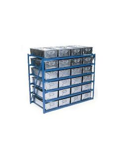 Tote Pan Racks - Any number of levels