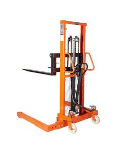 TUFF Manual Straddle Stackers with Adjustable Forks