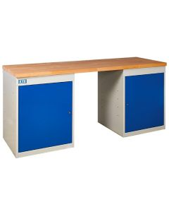 TUFF Pedestal Benches -2 Cupboards