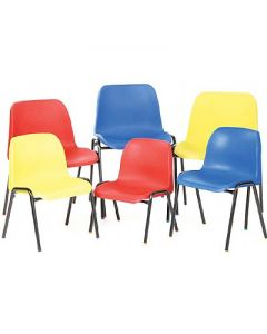 Value School Poly Chairs